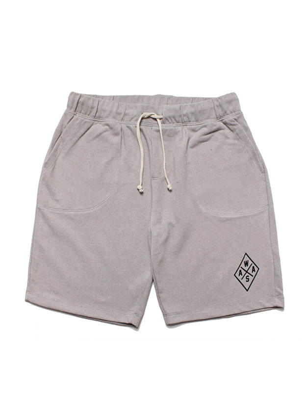 Heather Gray WAAS Emblem Shorts