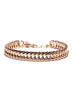 """Rail"" Gold Chain Bracelet for Men"