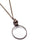 Magnifier pendant necklace