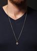 Number 6 pendant Men's Necklace