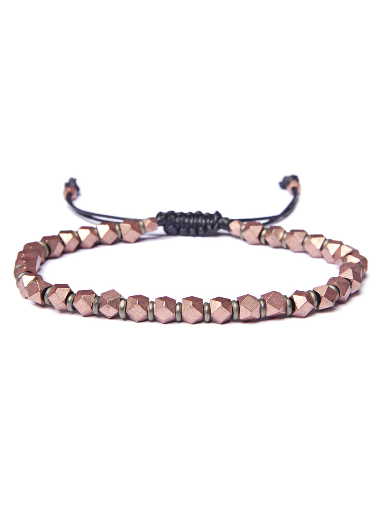 Copper Bead Bracelet for Men