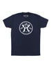"""WAAS Motorcycles"" navy blue short sleeve t-shirt"