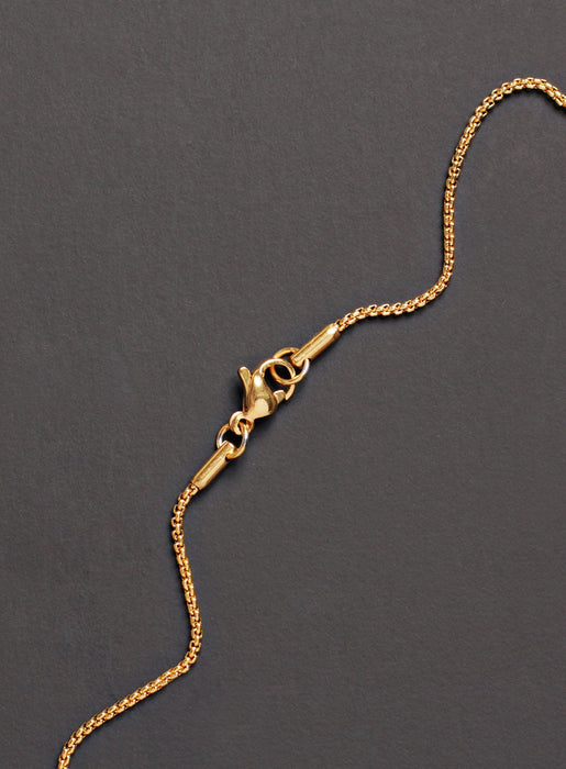 LARGE GOLD CROSS NECKLACE FOR MEN