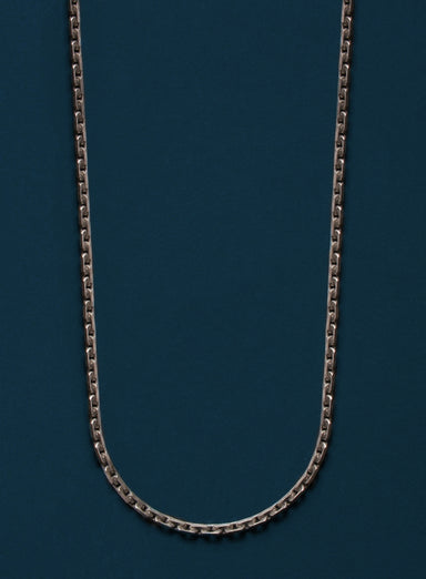 Oxidized Sterling Modern Cable Chain