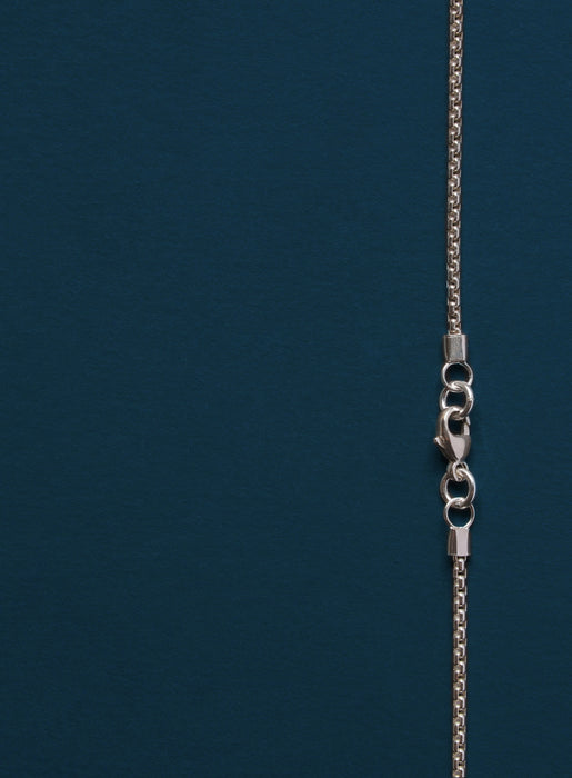Sterling Silver Cross Necklace Set for Men