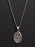 Holy Spirit Sterling Silver Medal Necklace for Men