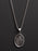 St. Jude Sterling Silver Medal Necklace for Men