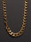 9mm Gold Curb Chain Necklace for Men