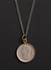 Vintage 1951 Belgium coin necklace
