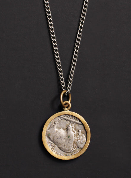 vintage 1936 usa coin necklace we are all smith s