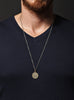 Vintage 1967 French coin necklace