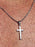 MINI STAINLESS STEEL CROSS NECKLACE FOR MEN