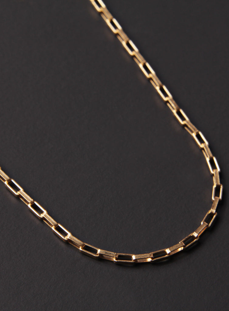 Gold Venetian Chain Necklace for Men