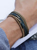 Indigo Rope Men's Bracelet