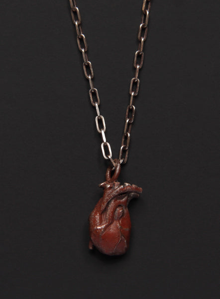 Anatomical Heart Necklace for Men