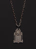 Virgin Mary & Child / Montserrat Sterling Silver Necklace for Men