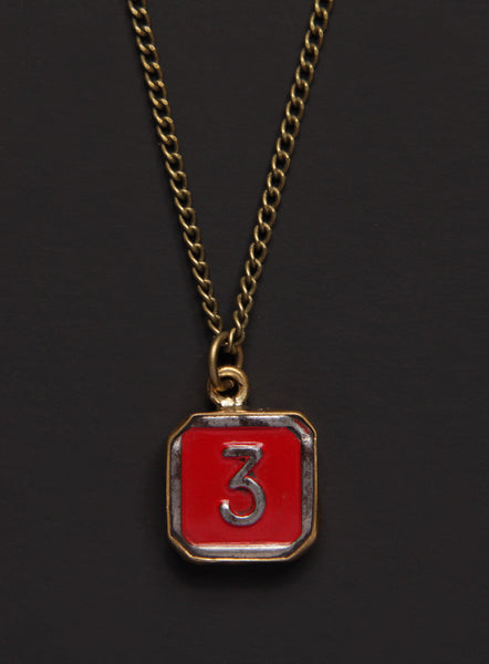 Medal coin necklaces we are all smith mens jewelry clothing number 3 pendant puzzle piece mens necklace mozeypictures Images