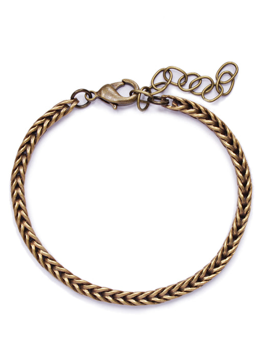 """Column"" Brass Chain Bracelet for Men"