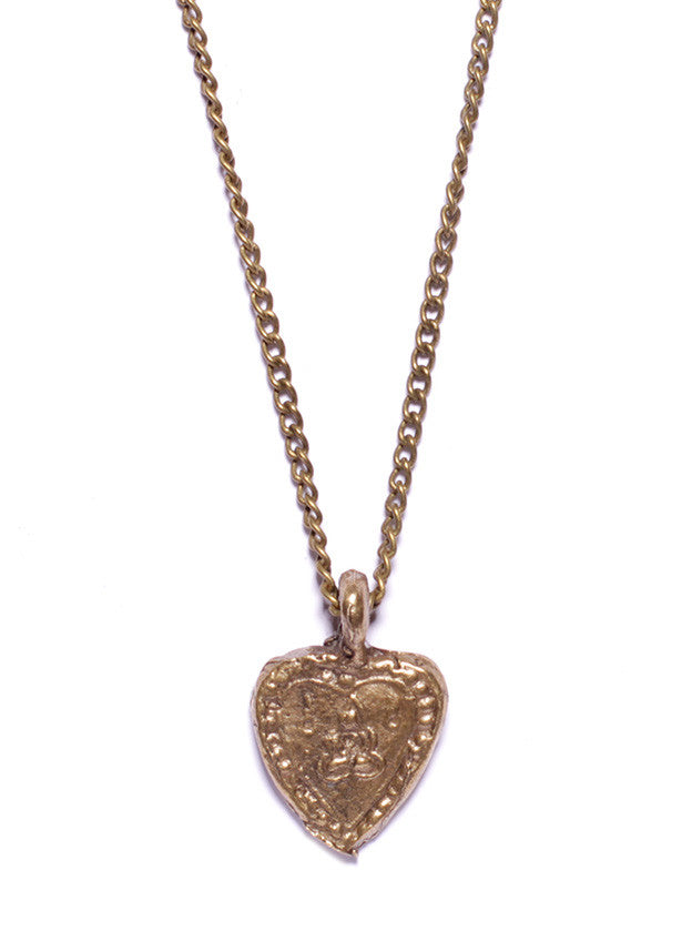 heart necklace for men