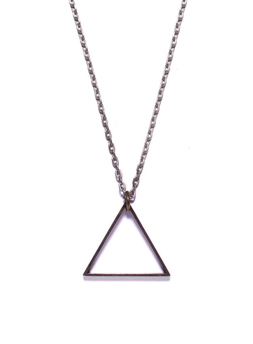 Triangle pendant jewelry