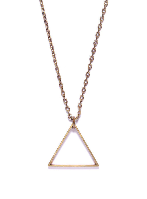 Men's jewelry triangle