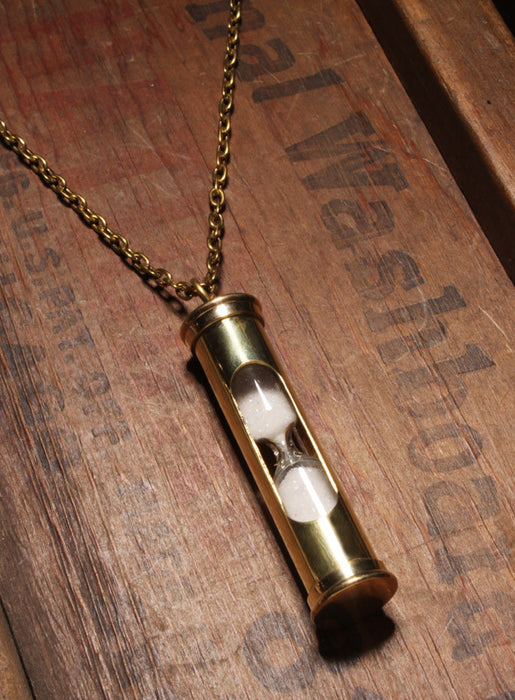 Gold Hourglass Necklace (SOLD OUT)