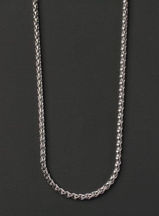 Stainless Steel Rope Necklace for Men