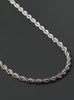 Stainless Steel Rope Chain Necklace for Men