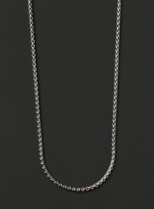 Stainless Steel Box Chain Necklace for Men