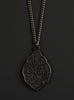 Men's Black Buddha Necklace No. 2