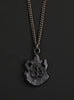 Men's Black Ganesh Om Necklace