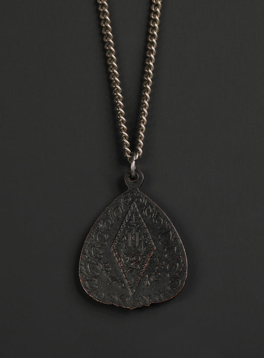 Men's Black Buddha Necklace No. 6