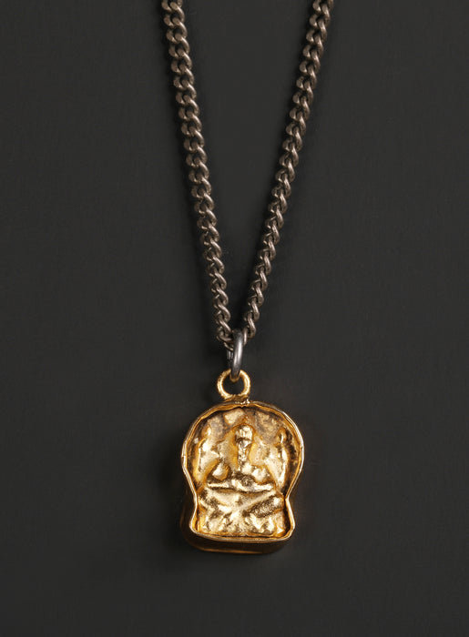 Men's Gold Ganesh Necklace