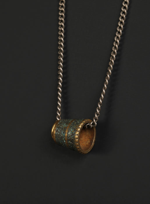 Men's Turquoise Amulet Necklace
