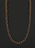 Men's Gold Chain Necklace (14k Gold Filled Rope Link Chain)
