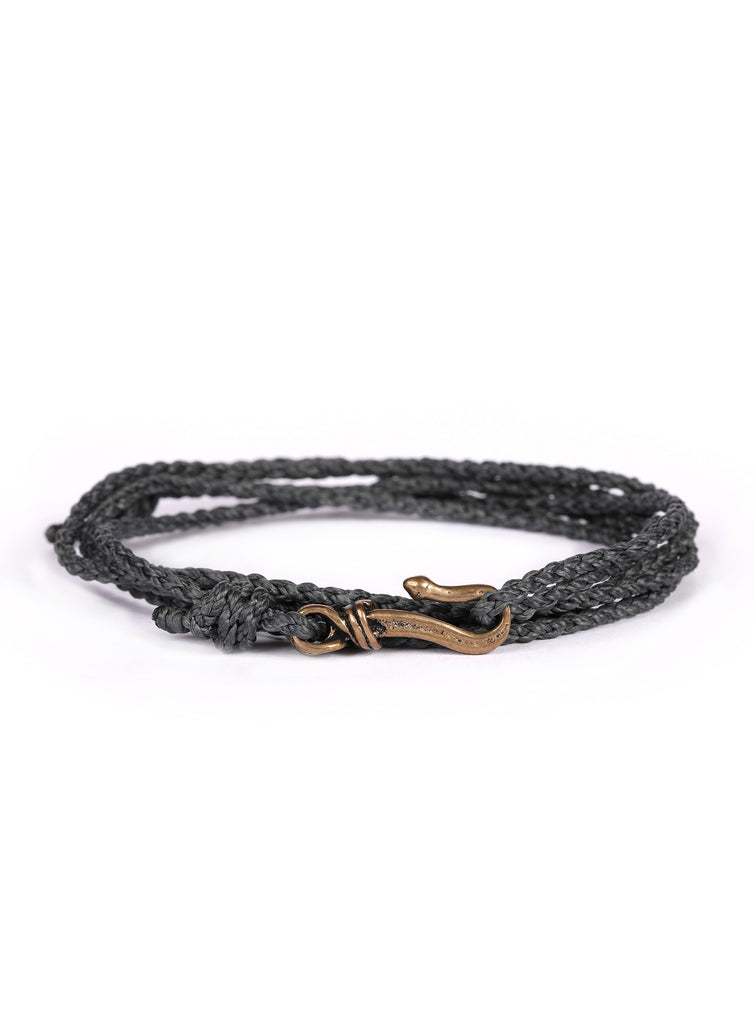 Dusty Teal  Rope Men's Bracelet