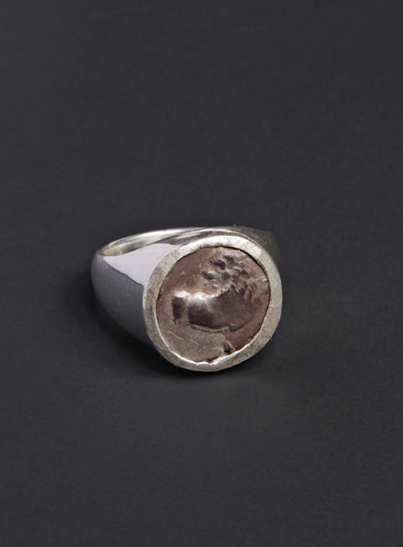 Ancient Greece Thracian Chersonesus Men's Silver Ring