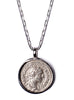 Severus Alexander and Providentia Silver Necklace