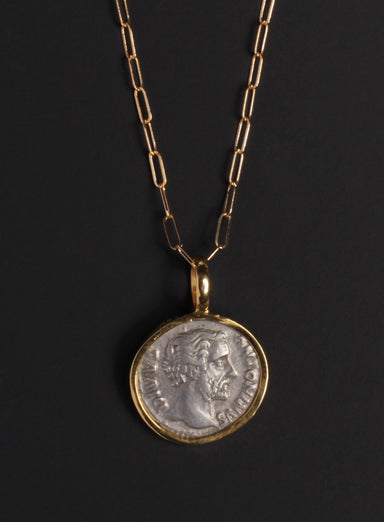 Antonius Pius Gold Necklace for Men