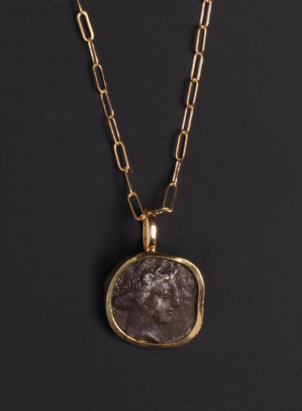 Bruttium Gold Necklace for Men