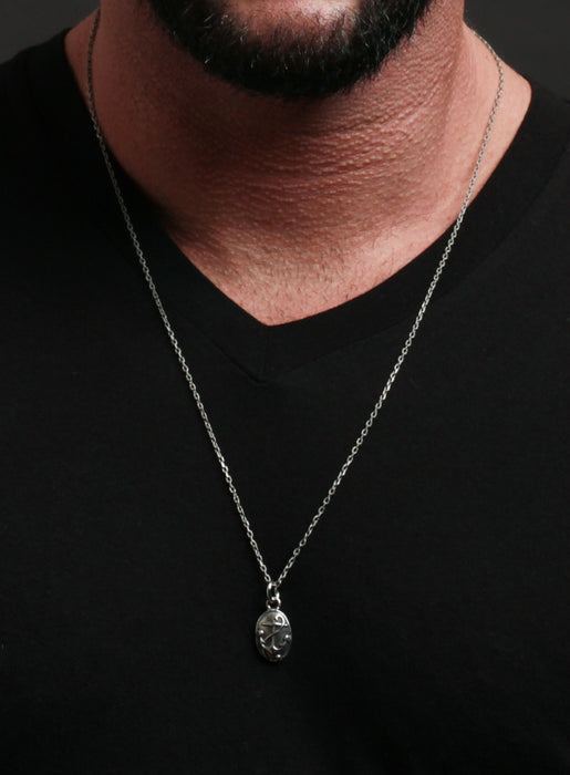 Brittanium Anchor Necklace for Men.