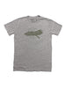 """American by Birth"" short sleeve heather gray t-shirt"