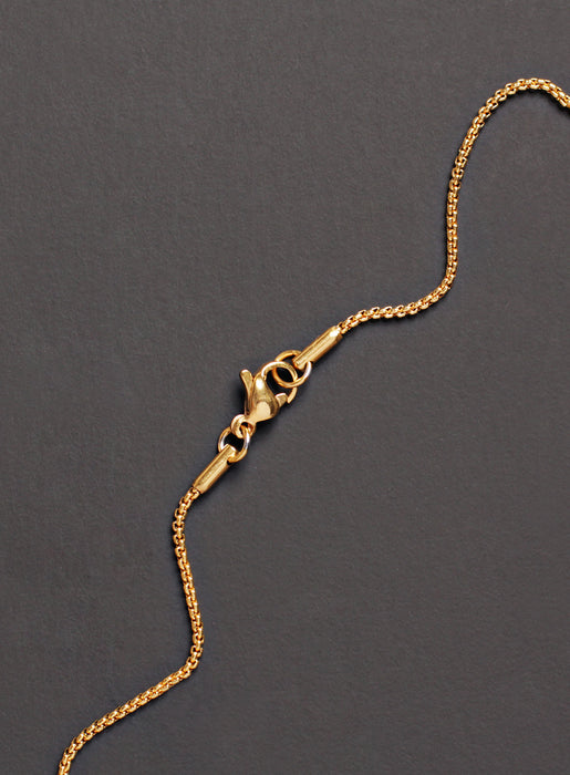 MEDIUM GOLD CROSS NECKLACE FOR MEN