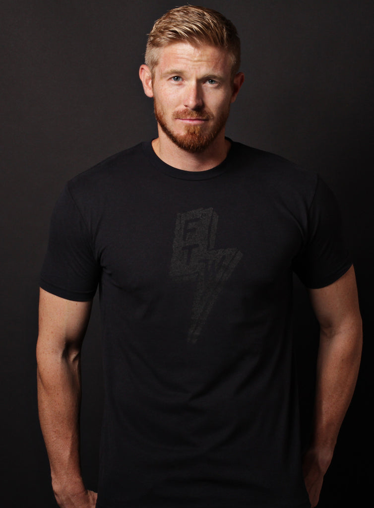 """Forever Two Wheels"" black short sleeve t-shirt"