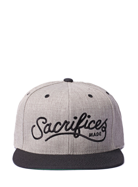 """Sacrifices Made"" Wool Blend Snapback"