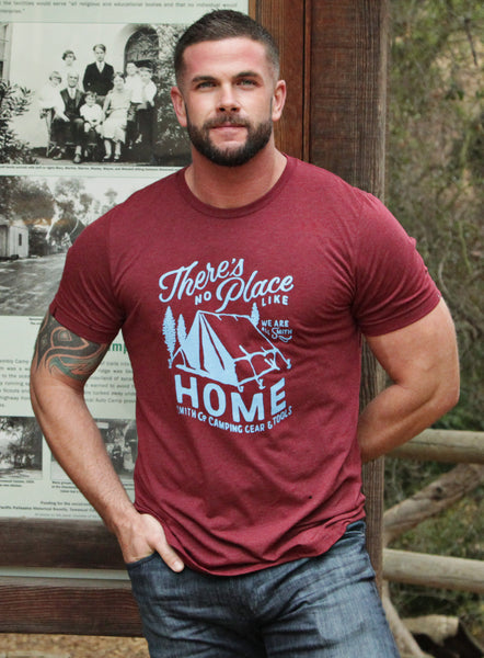 """There's No Place Like Home"" Cardinal Red Men's T-shirt"