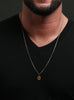 Initial Necklace for Men
