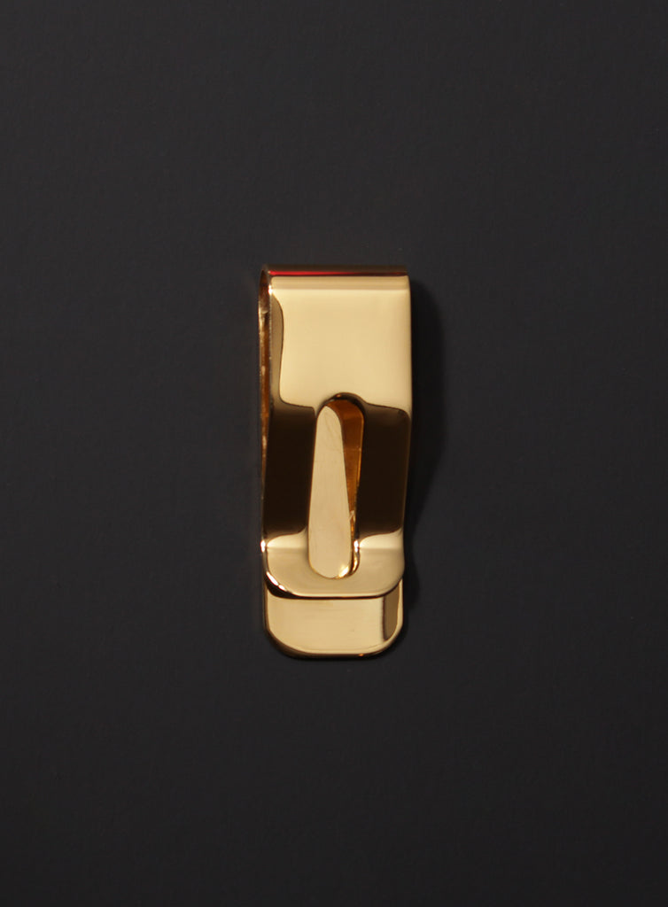Gold Plated Stainless Steel Money Clip