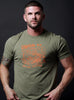 """Union of Mechanics"" military green short sleeve t-shirt"