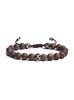 Bronzite Beaded Men's Bracelet